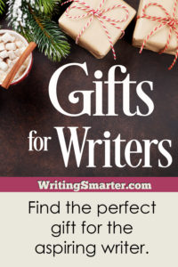 gifts for writers, ideas for aspiring writers