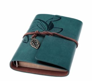 leather bound journal for writers