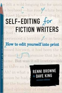 self-editing book for fiction writers