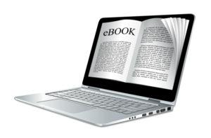 laptop showing an ebook