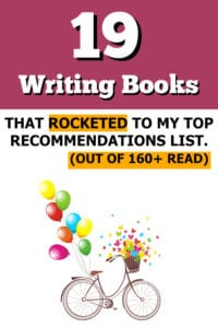 image for list of writing books for writers
