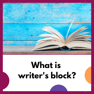 book, with question, what is writer's block?